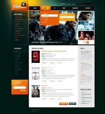 movie website template 32460