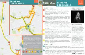 Portland Bike Maps by Taste Of Greenville U2014 Bikabout