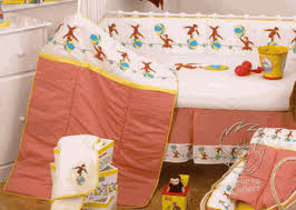 Curious George Nursery Theme Bedding And Decorating Ideas - Curious george bedroom set