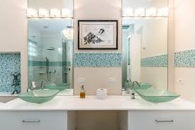 Custom Bathroom Mirror Glass Mirrors Boca Raton Fl Reflective Glass Mirror