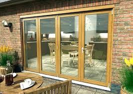 Wooden Bifold Patio Doors Exterior Folding Doors Wooden Doors Brilliant Exterior Patio Doors