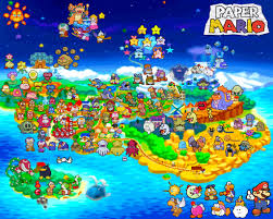 Super Mario World Map by Paper Mario Map By Silverbuller Deviantart Com On Deviantart