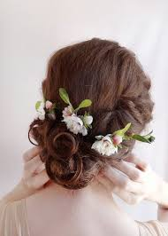 flowers for hair just picked 3 wildflower hair pins