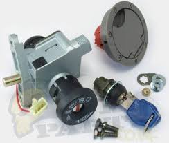 yamaha aerox ignition lockset complete pedparts uk