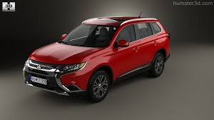 mitsubishi crossover models 360 view of mitsubishi outlander 2015 3d model hum3d store