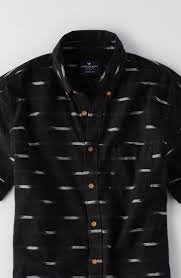 aeo print short sleeve shirt by american eagle outfitters the
