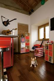Laminate Flooring For Walls 25 Vivacious Kids U0027 Rooms With Brick Walls Full Of Personality