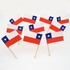 Chile Santiago Flag Chilean Flag Toothpicks Chile Theme Party Decorations U0026 Supplies