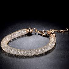 crystal mesh bracelet images Buy luxury crystal jewelry online at low prices in india jewelvista jpg