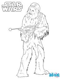 chewbacca coloring pages hellokids com