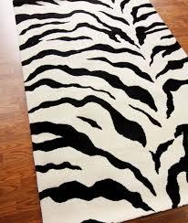 Zebra Print Bathroom Rugs Zebra Throw Rug Roselawnlutheran