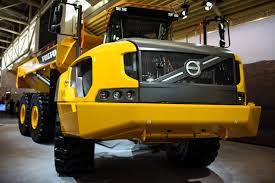 volvo truck latest model volvo ce unveils 60 ton a60h articulated dump truck equipment