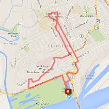 Muscle Shoals Alabama Map Course Maps U2014 Renaissance Man Triathlon Be More July 10th 2016