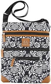 black friday handbags amazon stone mountain lockport batik quilted handbag one size black white