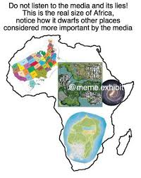 africa map real size 25 best memes about the real size of africa the real size of