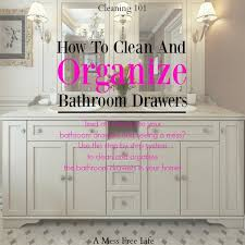 Organizing Bathroom Drawers How To Organize Bathroom Drawers Simple Spring Cleaning Tips