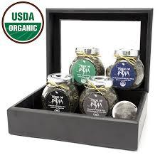 amazon tea amazon com pride of india organic classic tea chest 72 tea