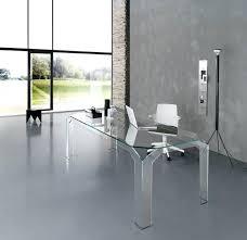 Glass Desk Modern Modern Glass Desk Desks For Home Office Intended Remodel 3
