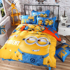 amazon com minion bedding set twin queen and king size queen