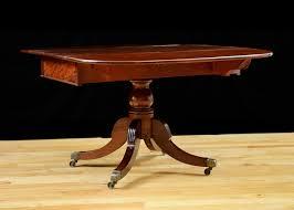 Drop Leaf Breakfast Table Antique Regency Drop Leaf Breakfast Table With Saber Legs Bonnin