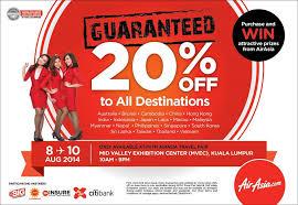airasia travel fair lowest fares with airasia airasia x at mitm 2014 airasia