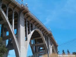 pasadena u0027s bridge weird california