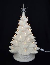 white christmas white ceramic christmas tree 19 inches ceramic