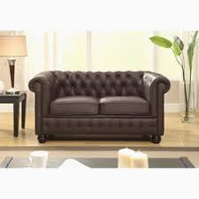canape cuir marron 2 places canape chesterfield marron achat vente canape incroyable canape
