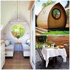 Tiny Home Rental Tiny House Vacations Garden Pod Micro Cabin In Winchester