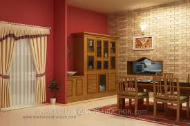 crockery cabinet designs modern crockery shelf with washbasin dining room interiors photos