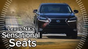 lexus nx my 2016 2016 lexus nx 300h incredibly comfortable and convenient seats