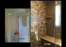 Bathroom Before And After Bathroom Modern Minimalist Bathroom Remodeling Bathtub And Shower