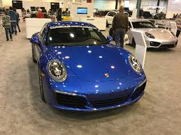 blue porsche 2017 porsche north houston porsche of north houston debuts 2017