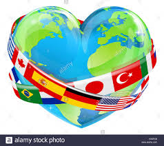 Country Flags Of The World Flags Of The World In Globe Vector Illustration Stock Photo