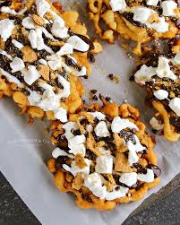 easy smores funnel cake kleinworth u0026 co