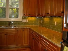 green kitchen backsplash furniture best small kitchens with modern green tile backsplash