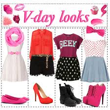 valentines day polyvore