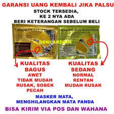 Jual Masker Mata Collagen Di Surabaya jual garansi masker mata collagen eye mask memperindah mata