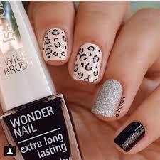 68 best nail art leopard nails images on pinterest leopards