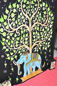 elephant tapestries hippie tapestry tree of wall hanging
