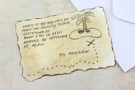 how to make desert island birthday invitations 7 steps