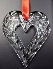 ornament clear orrefors art glass ebay