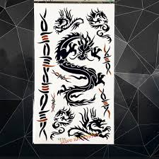 3d dragon tatoo online buy wholesale black dragon tattoos from china black dragon