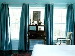 Bright Blue Curtains Green Blue Curtains Bright Blue Valance Curtains For Bedroom Blue