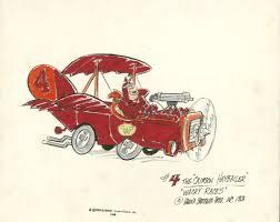 wacky races jerry eisenberg illustration history