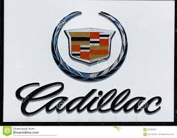 american car logos cadillac automobile dealership sign and logo editorial image