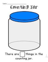 counting jar template by senorita maestra teachers pay teachers