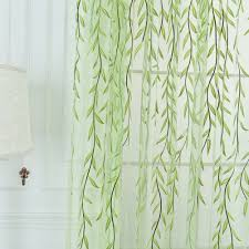 amazon com norbi willow voile tulle room window curtain sheer