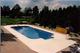 Pictures Of Inground Pools by 2ft Radius Rectangle Inground Swimming Pools Cannon Pools And Spas