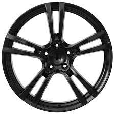 porsche cayenne replica wheels porsche cayenne panamera 22 factory style black replica wheels